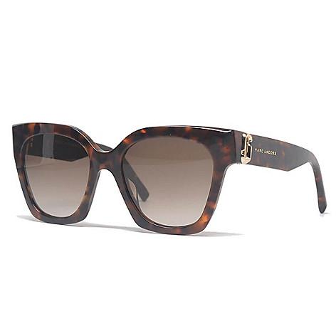 0ac3ad06c1 741-450- Marc Jacobs 52mm Havana Rectangular Frame Sunglasses w  Case