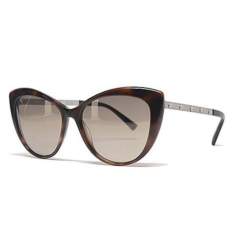 6ff7f7b45e1 741-678- Versace 57mm Choice of Color Cat Eye Frame Designer Sunglasses w