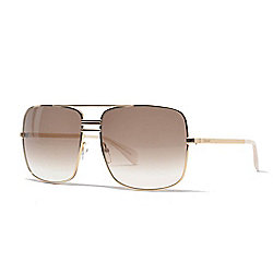 db3aa94fbc7 Image of product 741-992. QUICKVIEW. Celine 61mm Gold-tone Aviator Frame  Sunglasses ...