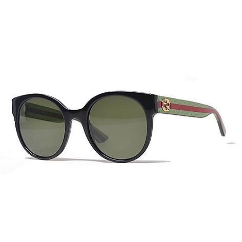 6e7e104896 742-007- Gucci 54mm Round Frame Sunglasses w  Case