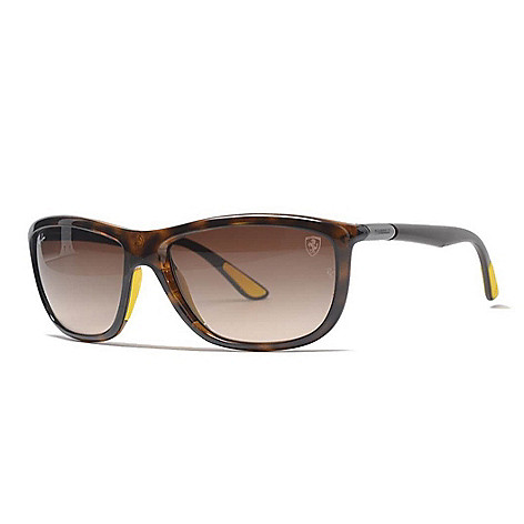 893474e02f0 742-013- Ray-Ban Men s 60mm Brown Ferrari Edition Rectangular Frame  Sunglasses w