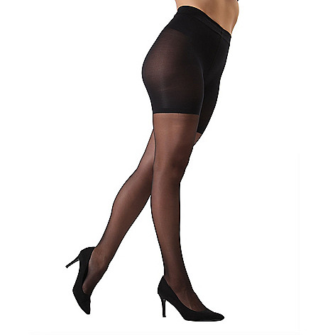 749a669874e 742-430- Slim Me by MeMoi Crystal Sheer Shaper Pantyhose