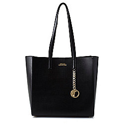 Leather Handbags - 742-682 Versace Collection Saffiano Leather Medusa Medallion Tote Bag - 742-682