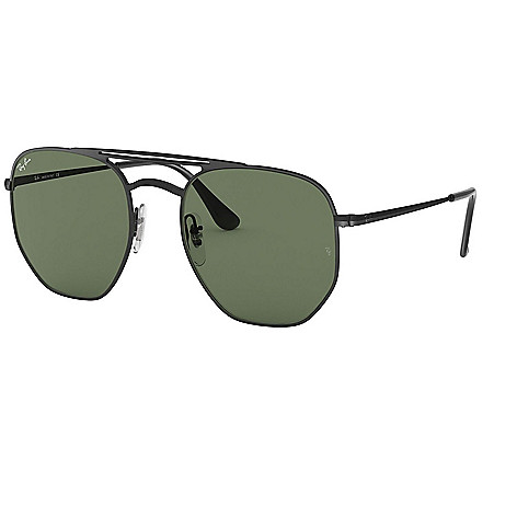 7336a824bea1 Ray-Ban Unisex 54mm Green Lens Hexagonal Frame Sunglasses w  Case ...