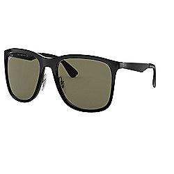 21cf0d7034e8 Ray-Ban Unisex 58mm Black Square Frame Polarized Sunglasses w/ Case