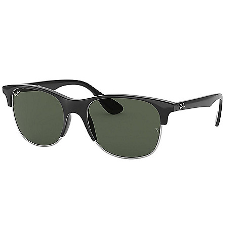 bda9aab114b 743-143- Ray-Ban Unisex 55mm Square Frame Sunglasses w  Case