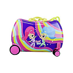 "ATM Luggage Shimmer & Shine ""Rainbow"" 17"" Cruiser Wheeled Suitcase"