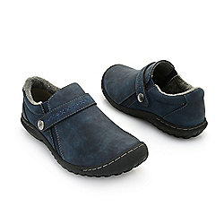 JBU by Jambu  - 743-938 JBU by Jambu Blakely Encore Embroidered Strap Plush Lined Memory Foam Shoes - 743-938