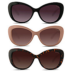 17c075cf128c8 Velvet Eyewear Set of 3 Cat Eye Thick Frame Sunglasses