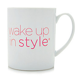 Wake Up In Style 18 oz Ceramic Mug
