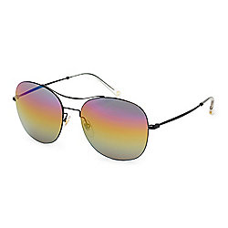 Gucci Men's 58mm Aviator Frame Sunglasses