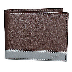 "Buxton ""Tundra Slimfold"" Faux Leather RFID Blocking Wallet"