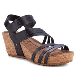 Walking Cradles Tiana Leather Strappy Wedge Sandals - 748-340