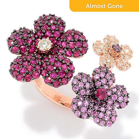Effy amore 14k rose gold 408ctw diamond pink sapphire ruby 157 121 effy amore 14k rose gold 408ctw diamond pink mightylinksfo