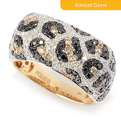 page rings gold lyst effy designer shop yellow white from women ring s diamond