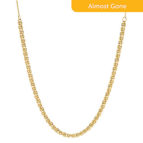 Italian Gold Chain >> Viale18k Italian Gold Choice Of Design Adjustable Necklace