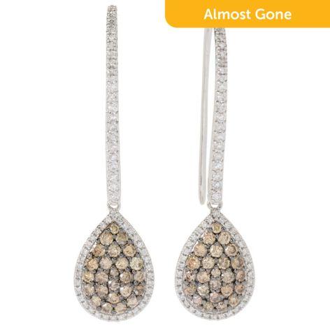 Prism 14k White Gold 1 5 1 20ctw Australian Diamond Teardrop