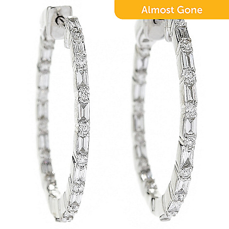 2ed569616 179-302- Gems of Distinction™ Couture Collection 14K White Gold Inside-out