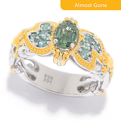 1cf44607c6774 Gems en Vogue, Alexandrite, Frog & Lily Pad, Band Ring