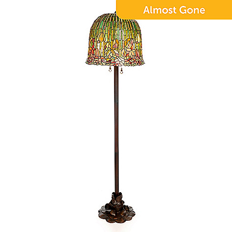 472 882 Tiffany Style 59 Pond Lily Stained Gl Floor Lamp