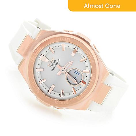 c3bfb94505 Casio Women's Baby G Quartz Ana / Digi Polyurethane Strap Watch