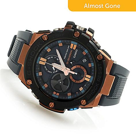 a7f373008 Casio Men's 45mm G-Shock G-Steel Solar Quartz Resin Strap Watch - EVINE