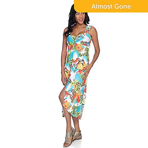 01b642ba94c563 732-848- Isy B.Stretch Knit Sleeveless Sweetheart Neck Hi-Lo Dress