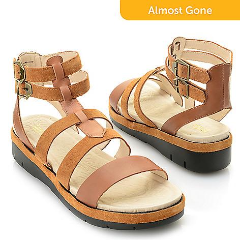 Piper Leather Nubuck Gladiator Sandals QLlo4o4UA0