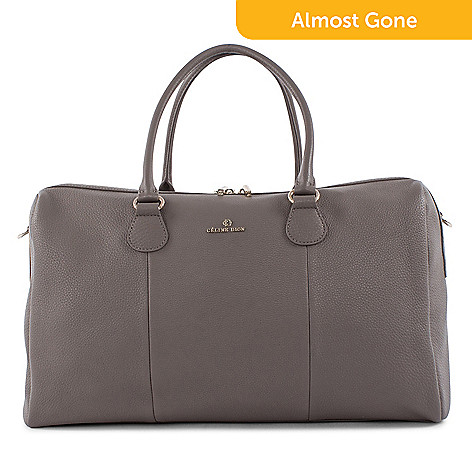 740 680 Celine Dion Collection Adagio Leather Duffel Bag W Removable