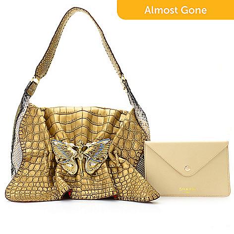 740 784 Sharif Couture Fantasy Limited Edition Snakeskin Crocodile Bag Made
