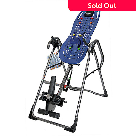 Teeter Hang Ups Inversion Table w/ Ergo-Embrace, Head Cushion, DVD ...