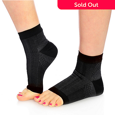 babf267038 001-242- Foot Angel Pair of Anti-Fatigue Compression Foot Sleeves