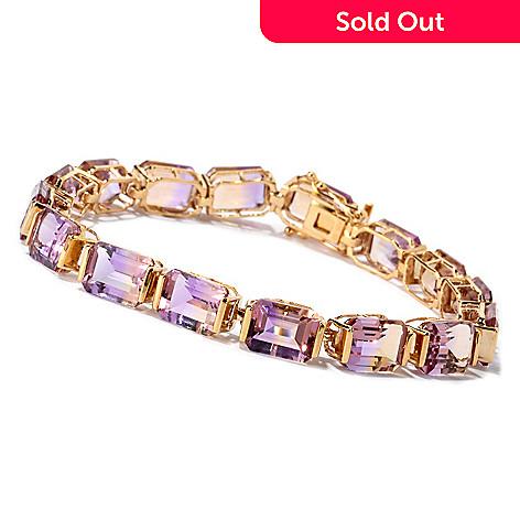 115 782 Nyc Ii 32 00ctw Emerald Cut Ametrine Tennis Bracelet