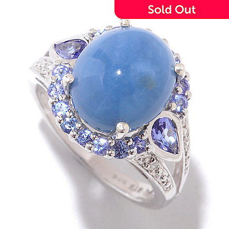 121 214 Nyc Ii 12 X 10mm Oregon Blue Opal Tanzanite
