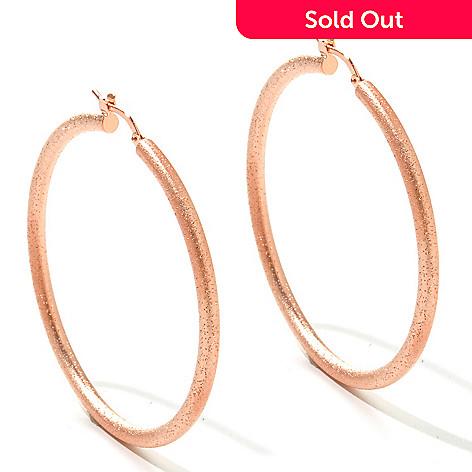 125 370 Charles Garnier Diamantini Hoop Earrings