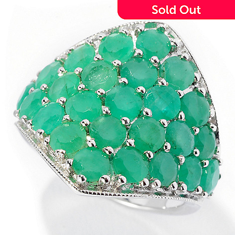 53f31e94beefe NYC II® 3.50ctw Sakota Emerald Diamond Shaped Ring