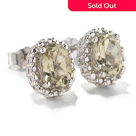 131 824 Gem Insider Sterling Silver 1 53ctw Zultanite Beaded Halo Stud Earrings