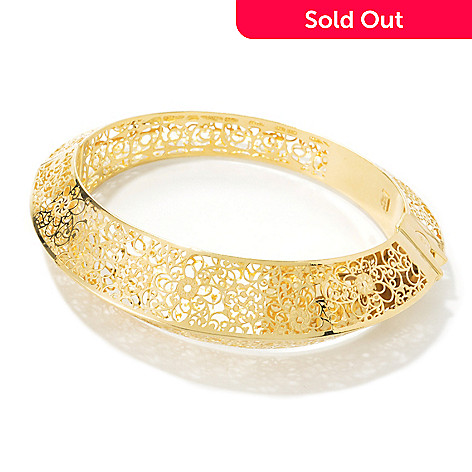 engraved bangle amazon inches gold com real yellow bracelet bangles dp