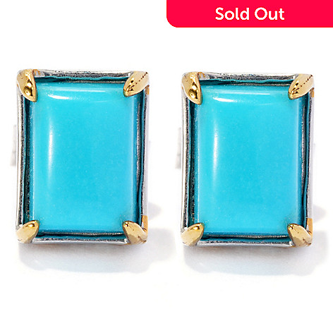 genuine sr stud candy turquoise cluster rock ippolita earrings