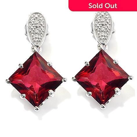 136 608 Nyc Ii 1 7 42ctw Princess Quartz Diamond Drop