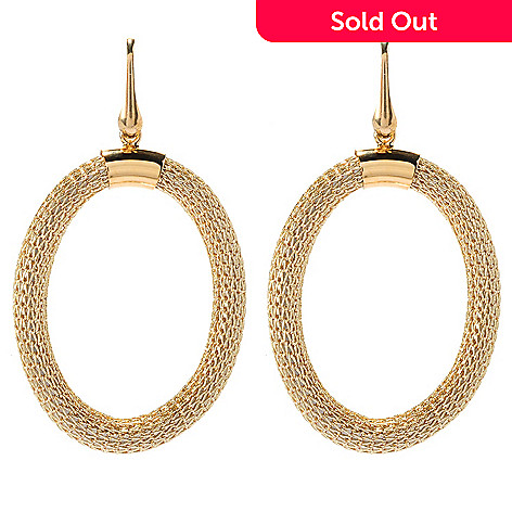83b4d60293da5a 147-109- Luna Italiana™ Choice of Round Drop Mesh Earrings