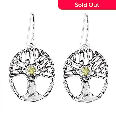 151 257 Page To Israel Sterling Silver Gemstone Inspirational Drop Earrings