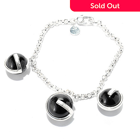 3f4d45dfdbe4d 151-742- Gucci Sterling Silver Black Onyx