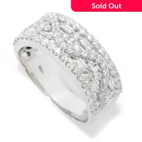 Sonia Bitton Galerie De Bijoux 14k White Gold 1 23ctw Diamond