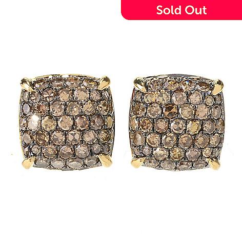 7fe1ec093 Colors of Prism™ 14K Gold 1.35ctw Fancy Color Diamond Stud Earrings ...