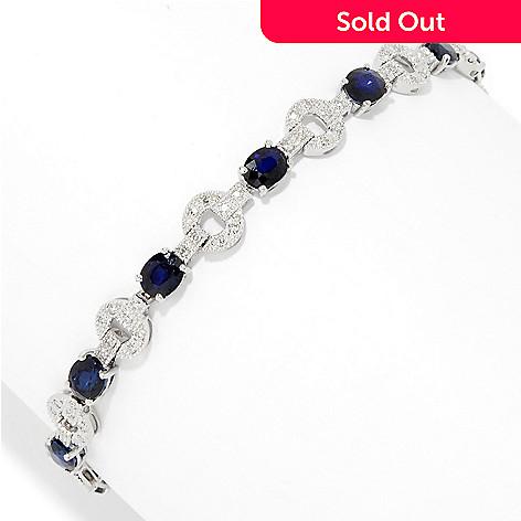 157 122 Effy 14k White Gold Diamond Shire Tennis Bracelet