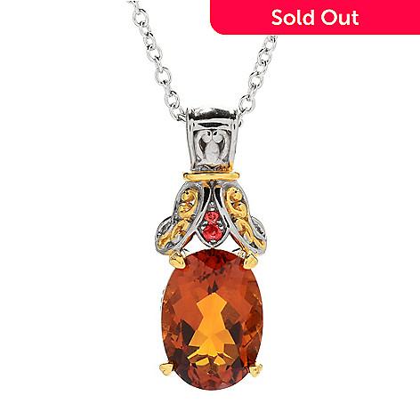 Gems en vogue 486ctw madeira citrine orange sapphire pendant w 157 701 gems en vogue 486ctw madeira citrine orange sapphire pendant w aloadofball Image collections