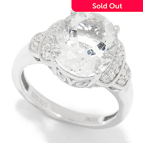 161 681 Nyc Ii 4 36ctw Brazilian Petalite White Zircon Tail Ring