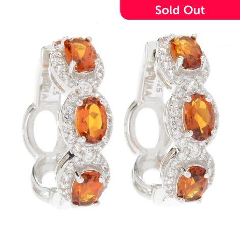 Fine Jewelry Orange Citrine Sterling Silver Drop Earrings ljVXQ1Yyh