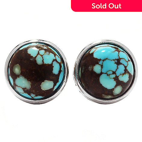162 460 Gem Insider Sterling Silver Choice Of Shape 8 Turquoise Stud